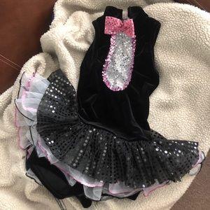 Girls Pink Panther Tuxedo Tutu Costume 🎃